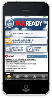 JaxReady screen shot