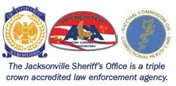 The Jacksonville Sheriff's Office is a triple crown accredited law enforcement agency